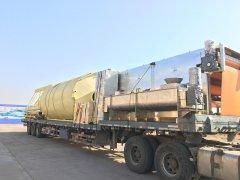 污泥二次脱水设备发往辽宁营口
